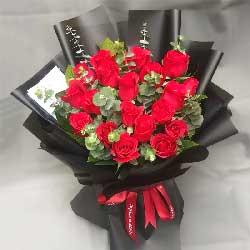19朵红玫瑰,今生你是我的唯一