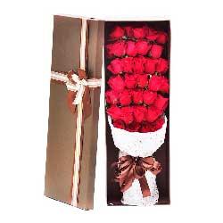 34朵红玫瑰,礼盒装,一切尽在不言中