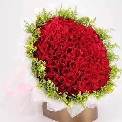 99朵红玫瑰,爱你的誓言