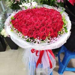 99朵红玫瑰,我要永远和你在一起