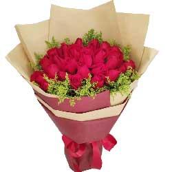 33朵红玫瑰,和你甜蜜牵手