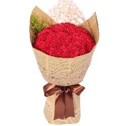33朵红色康乃馨,最热爱的您
