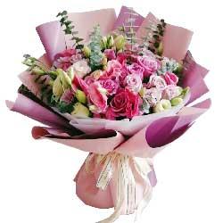 33朵紫玫瑰,我想你了