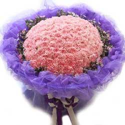 99朵粉色康乃馨,向您诉说我对您的爱