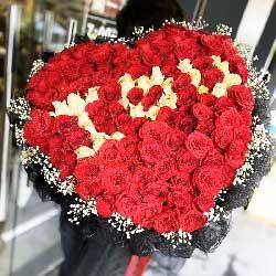99朵玫瑰,思念你的眼睛