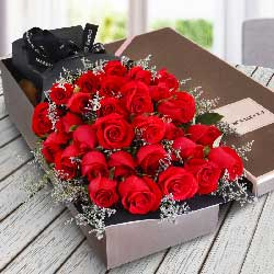 29朵红玫瑰,礼盒装,你是我的一切