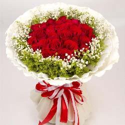 19朵红玫瑰,牵缘如愿