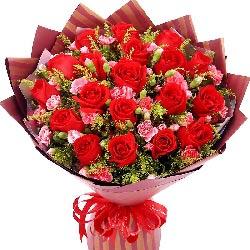 20朵红玫瑰,更爱你