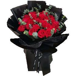 27朵红玫瑰,爱你是我一辈子的事业