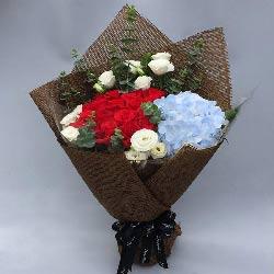 16朵红玫瑰,11朵桔梗,你是我一生中最快乐的时光