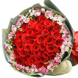 30朵红玫瑰,爱你的温情