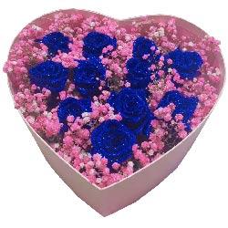 11朵蓝色玫瑰,幸福的心跳