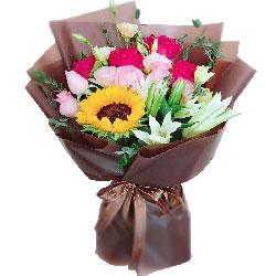 11朵玫瑰,向日葵百合,我需要你