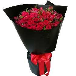 33朵红玫瑰,有你给我世界都不换