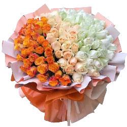 99朵玫瑰,我喜欢你的美