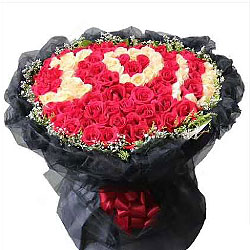 99朵玫瑰,让你一辈子幸福