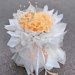 33朵香槟玫瑰,爱幸福又甜蜜