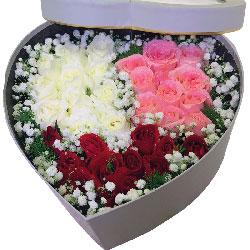 30朵玫瑰礼盒,你是我今生今世的女神