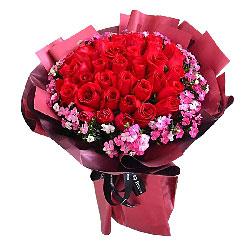 33朵红玫瑰,时时把我记在心里