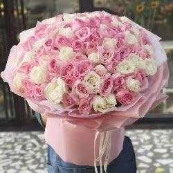 99朵玫瑰,爱情甜蜜