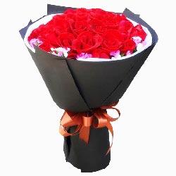 33朵红玫瑰,喜欢你一辈子