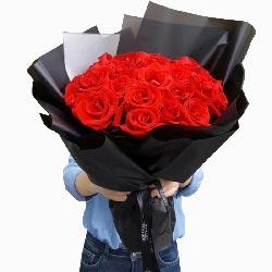 21朵红玫瑰,爱你的心