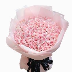 50朵戴安娜粉玫瑰,爱你无法抗拒