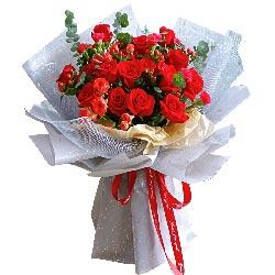 16朵红玫瑰,天涯不过咫尺