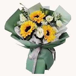 3朵向日葵,6朵桔梗,您是最优秀的老师
