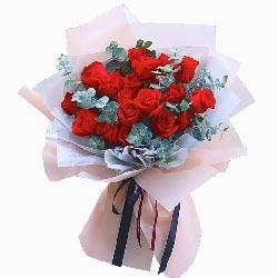 19朵红玫瑰,想你是甜蜜的