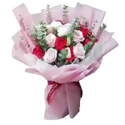 19朵玫瑰混搭,每天都想你