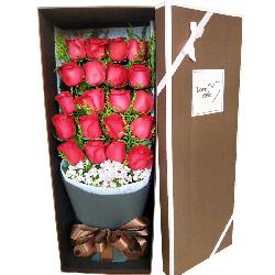 20朵红玫瑰礼盒,一切美好的爱情
