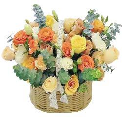 22朵玫瑰花篮,愿你青春永在