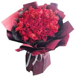 33朵红玫瑰,有了你我很幸福
