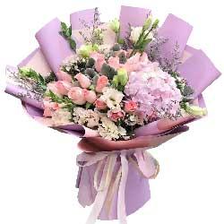 19朵戴安娜粉玫瑰,你是我的爱