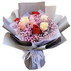 9朵玫瑰花,一世的柔情