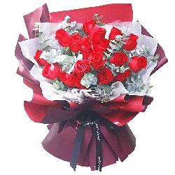 19朵红玫瑰,与你一起浪漫