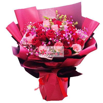 29朵玫瑰,你是我这辈子唯一爱的…