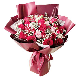 22朵玫瑰,爱你满满的