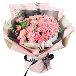 29朵粉色康乃馨,幸福永远乐开怀