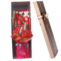 11朵红玫瑰礼盒,真挚的爱恋