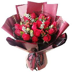21朵红玫瑰,永远爱你