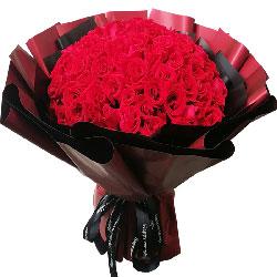 99朵红玫瑰,一生一世的伴侣