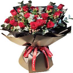 20朵红玫瑰,此生有你心不会再孤独