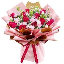 11朵红玫瑰,一生一世