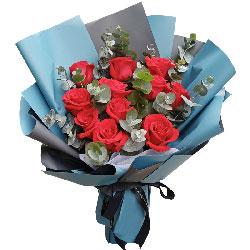 11朵红玫瑰,无尽的爱恋