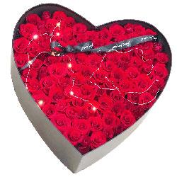 99朵红玫瑰礼盒,你愿意嫁给我吗