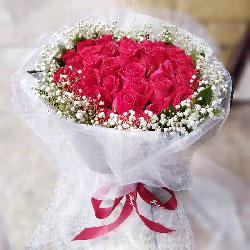 33朵红玫瑰,爱你一生一世