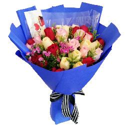 33朵玫瑰,爱如潮水