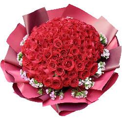 99朵红玫瑰,爱长长久久